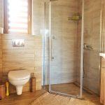 domki z łazienkami